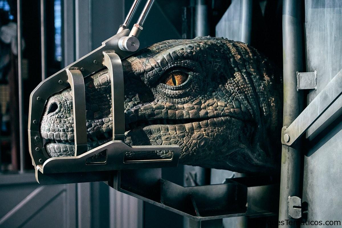 Universal Orlando Resort revela detalles de los velociraptores en Jurassic World Velocicoaster