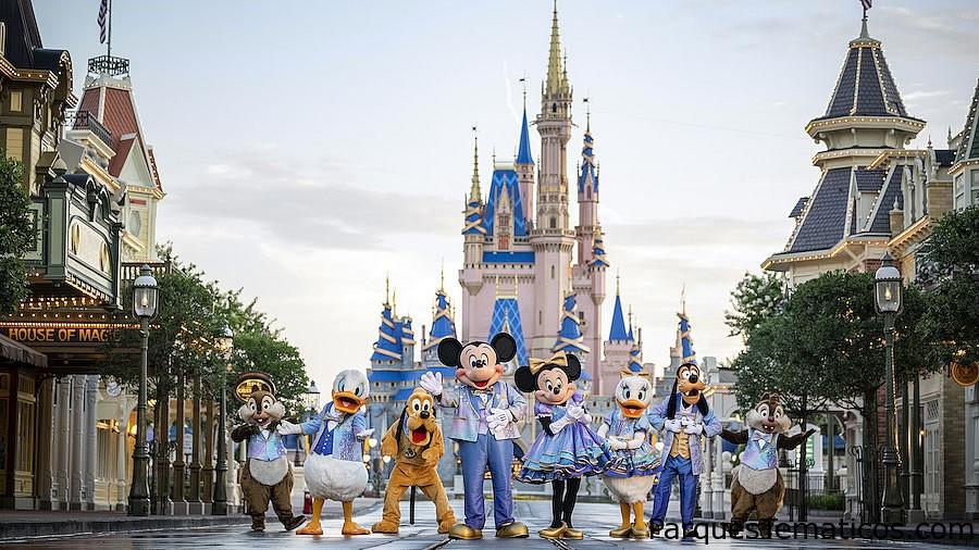 La celebración más mágica del mundo comienza el 1° de octubre en Walt Disney World