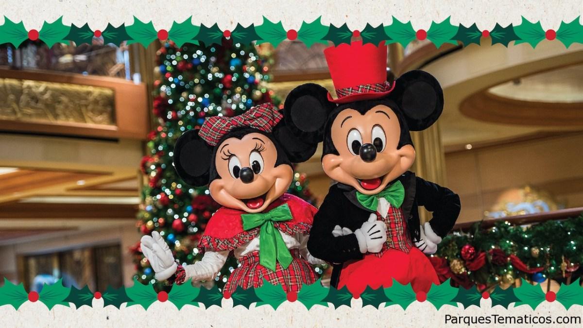 Disney Cruise Line ofrece más alegría navideña que nunca en el otoño de 2022