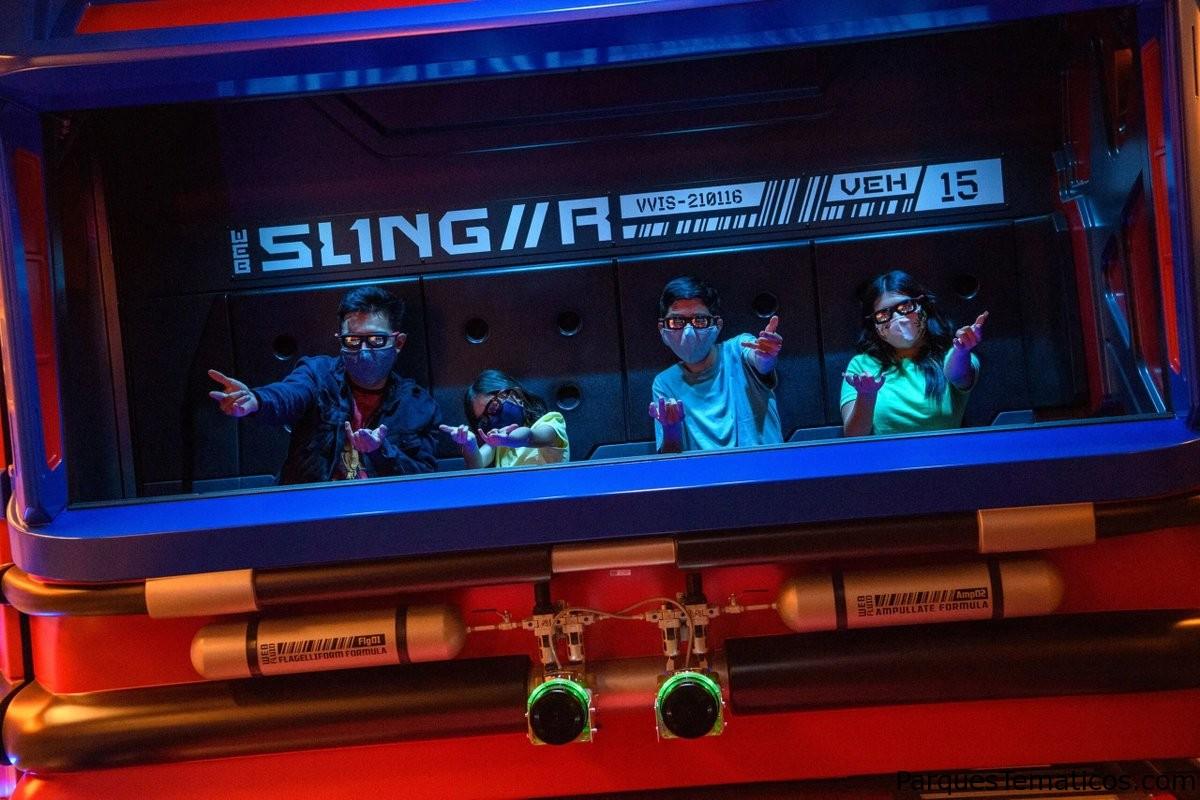 Avengers Campus en Disneyland Resort presenta WEB SLINGERS: A Spider-Man Adventure, una nueva atracción para que los visitantes de todas las edades descubran sus superpoderes lanza-telarañas