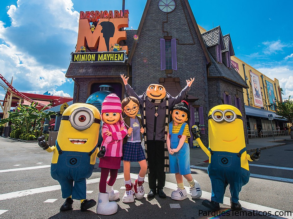 Guía completa de Despicable Me Minion Mayhem en Universal Studios Florida