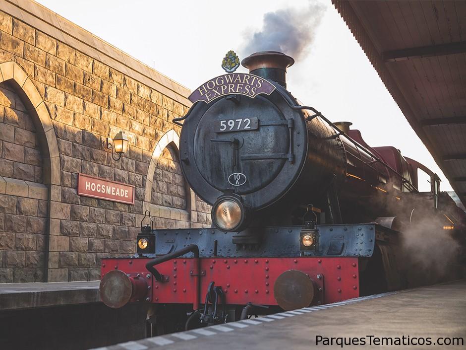 Guía completa del Expreso de Hogwarts en El mundo mágico de Harry Potter