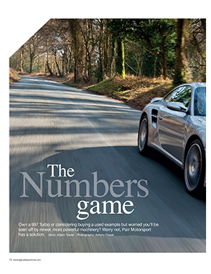 Parr 997 Turbo feature GT Porsche May 2014