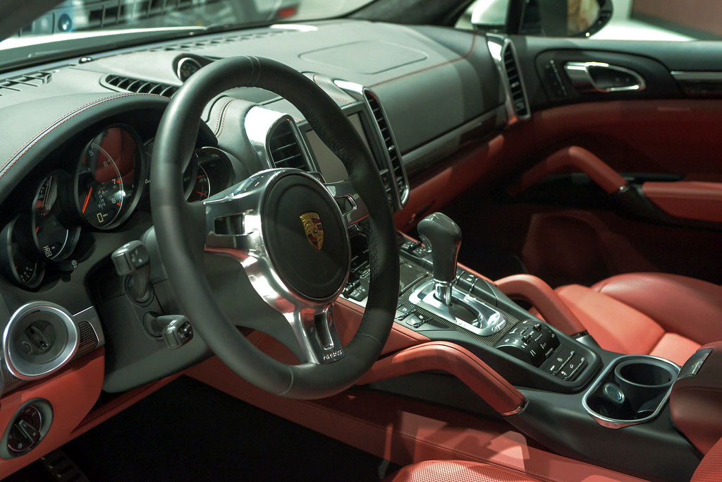A Porsche pre-purchase inspection will include an examination of vehicle interior for wear