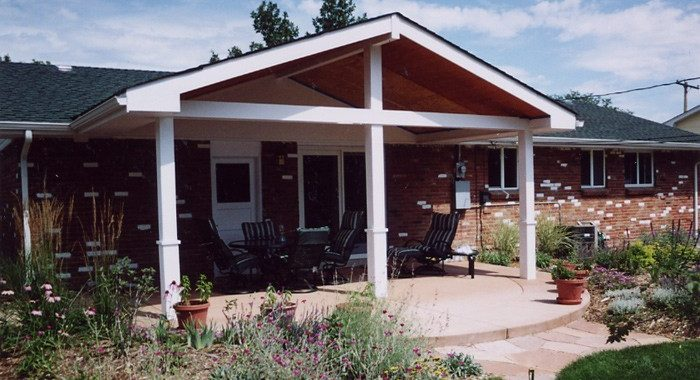 diy covered patio parr lumber