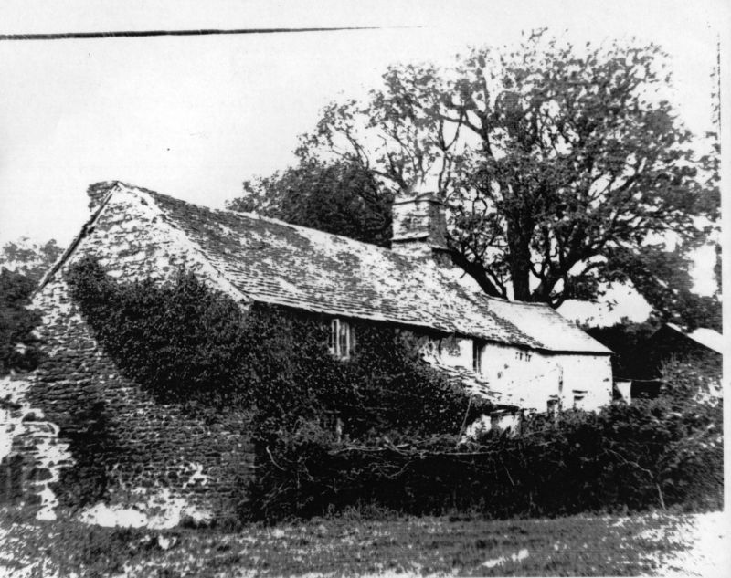 Church Cottage, Church Town, Parracombe - Kind permission of Brian Garton