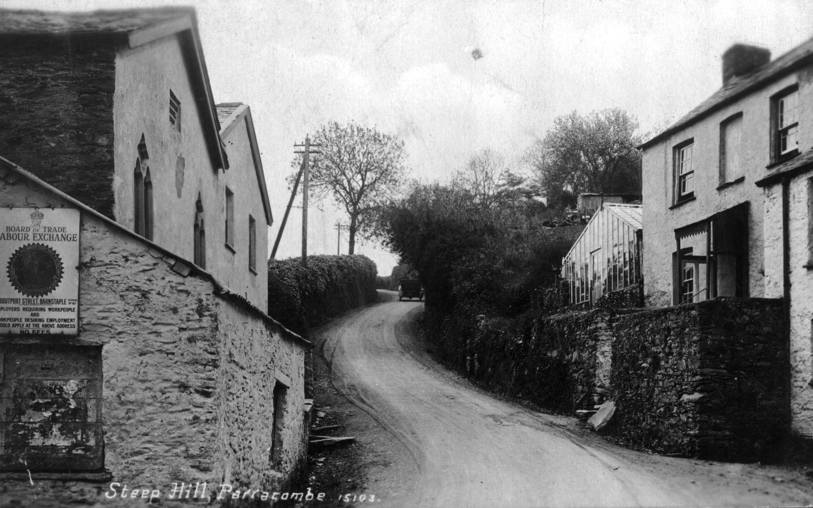 Ley's Lane, Parracombe, Devon - kind permission David Blackmore