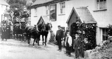Historic images of Hunters Inn, Parracombe, Exmoor