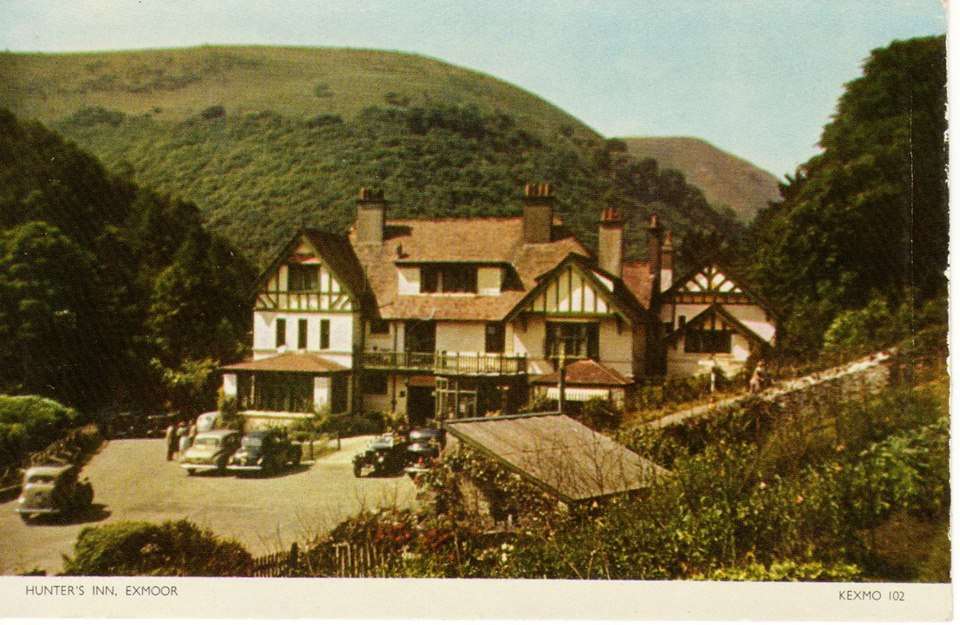 Hunters Inn - kind permission Jerry Davis