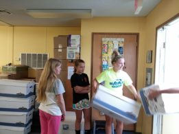 Massaponax Baptist Church youth group made unloading super easy!