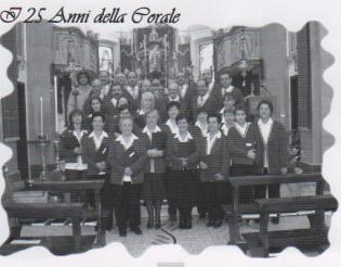 La Schola Cantorum nel 25° di fondazione