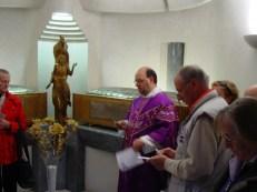 Cappella delle beatitudini dove dal 1991 sono custodite le salme di Madre Gesuina e Dositea