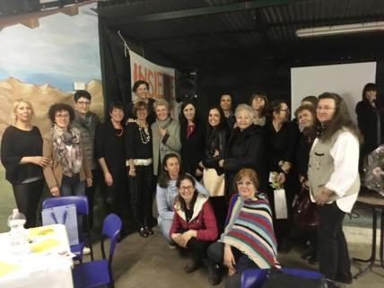 Giornata della donna 1 - il gruppo Insieme Si Può e all'associazione NEO-N di Novara
