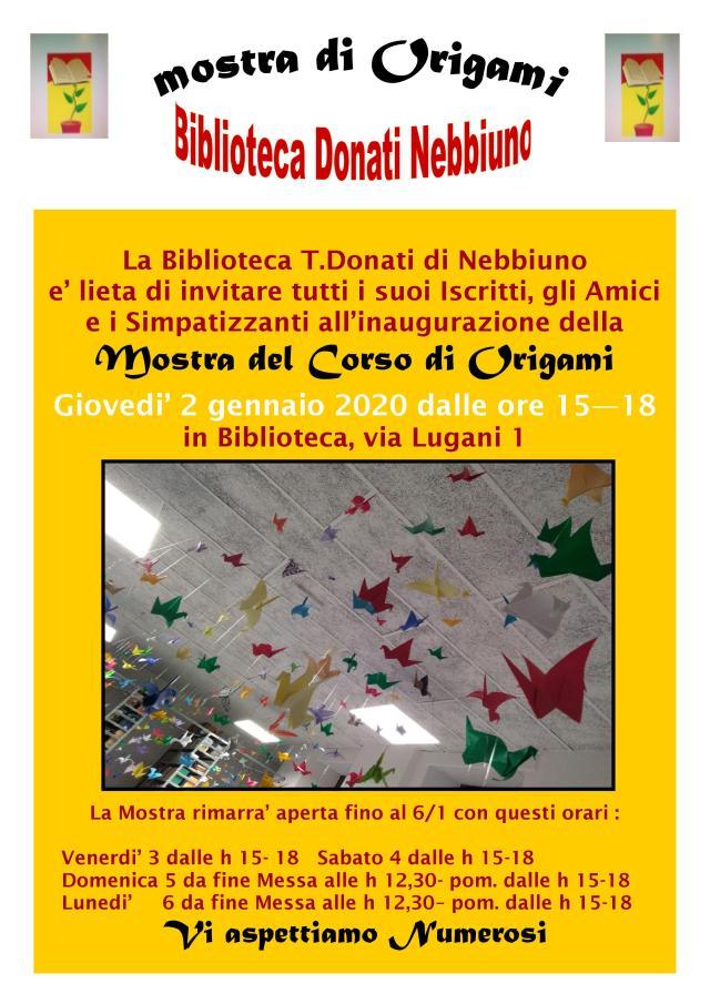 locandina origami 2020