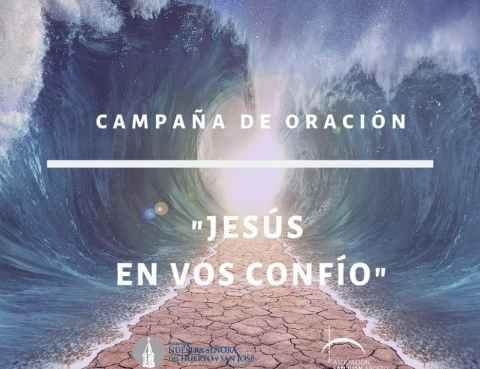 Campaña de Oracion - Jesus en vos confio