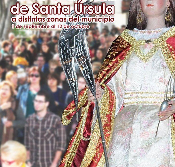 Santa Úrsula visita por primera vez en su historia distintas zonas del municipio