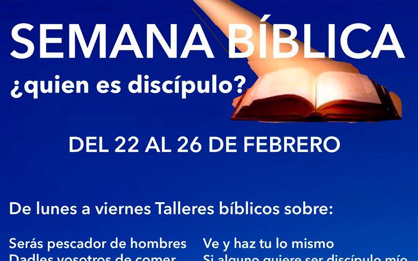 Semana Bíblica del 22 al 26 de febrero