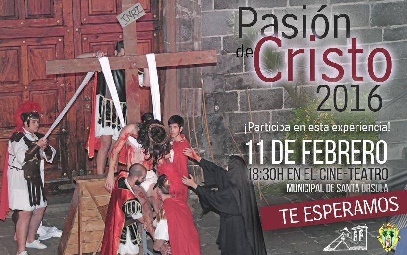 Representación de la Pasión de Cristo 2016 (SUSPENDIDA)