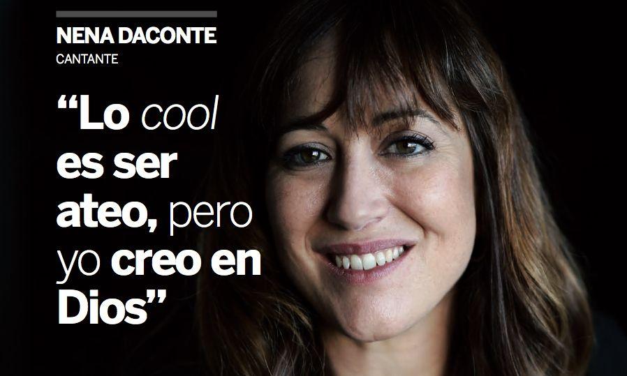Nena Daconte: «Yo Creo en Dios»