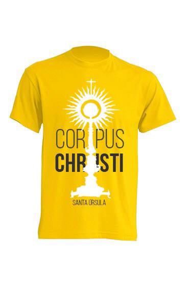 CAMISETAS OFICIALES DEL CORPUS CHRISTI SANTA ÚRSULA