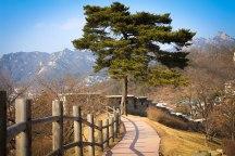 Fortress wall at Inwangsan