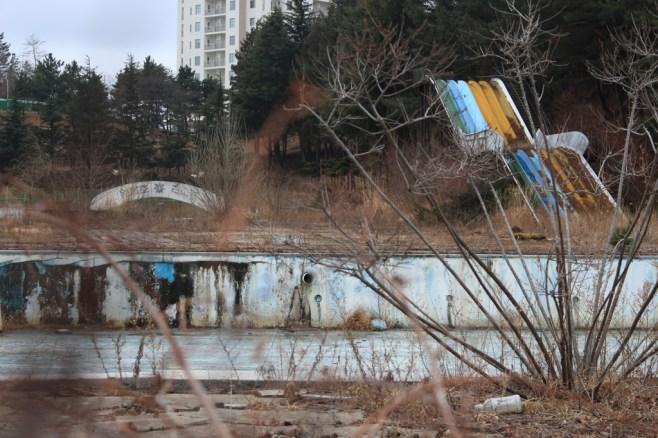 Abandoned resort colour