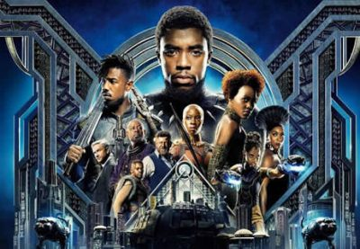 'Black Panther' becomes 10th highest grossing movie of all time
