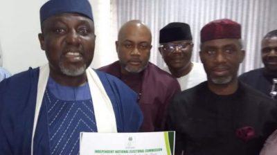 INEC finally issues certificate of return to Okorocha