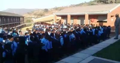 Video of school principal making students sing as punishment for late coming amuses internet users