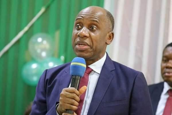 Tinubu: Amaechi reacts as workers oppose Buhari's naming of Apapa Station