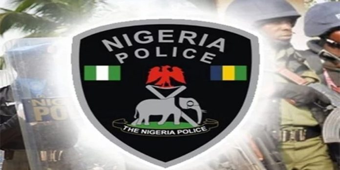 BREAKING: Angry youths set Ibadan police station on fire