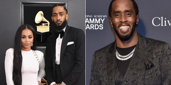 Lauren London denies dating Diddy after Nipsey Hussle's death
