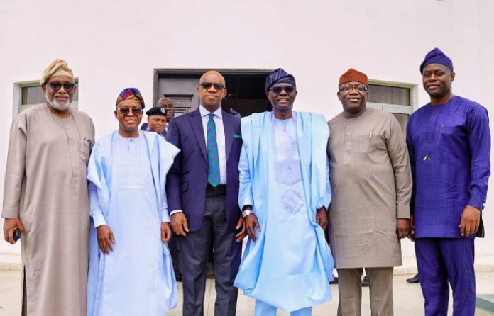 JUST IN: Southwest governors, IGP meet in Lagos over Amotekun