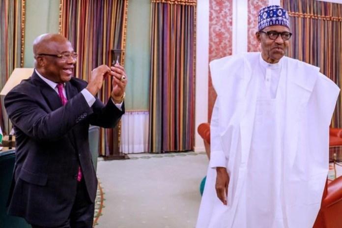 Uzodinma hits Aso Rock, demands N32bn refund from Buhari