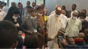 Coronavirus: Ministers visit Abuja airport to monitor travellers' screening (Photos)