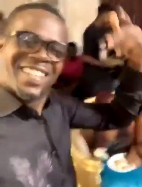 Party video that puts Funke Akindele, hubby in trouble