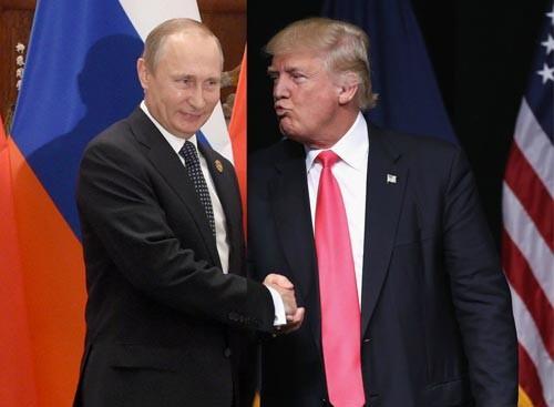Trump claims Russian president, Putin likes him