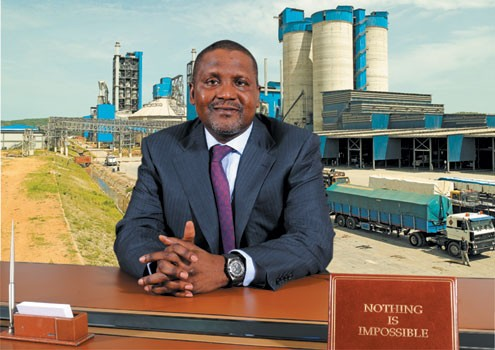 Dangote cement pays over N1trn dividends in seven years