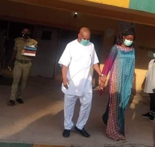 Orji Kalu released from Kuje Prison
