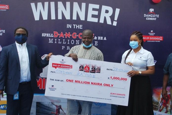 Excitement Grips Nigerians as Winners Emerge in Dangote Cement Promo