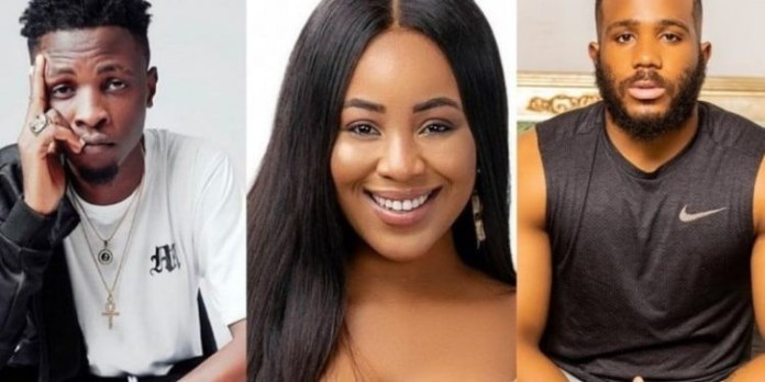 Laycon, Erica, Kiddwaya's love triangle intrigues viewers