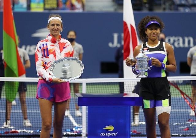 """I don't wanna play you in more finals"" – Naomi Osaka tells Azarenka"