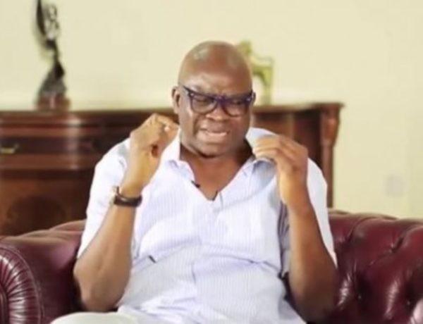 Former Ekiti governor Fayose loses sister