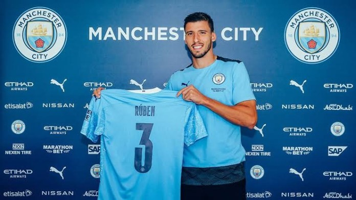 Manchester City complete signing of Ruben Dias