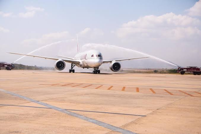 Qatar Airways touches down for the first time in Abuja