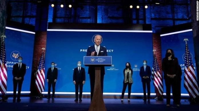 America back to the table - Joe Biden