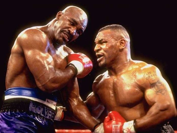 Evander Holyfield in talks with Mike Tyson about £150 million trilogy fight