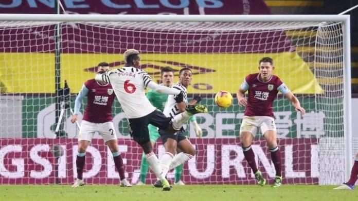 Pogba Strike Sends Man Utd Top With Win At Burnley