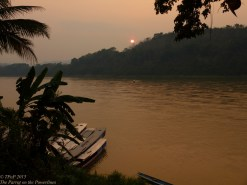 Banks of the Mekong at Luang Prabang
