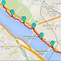Run day Monday: Hangang park